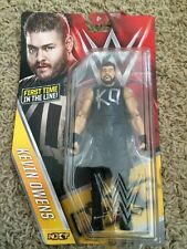 WWE Kevin Owens Series 58 Basic Figure First Time in Line Mattel Damaged Card