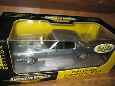 1969 PontiacGrand Prix SJ 428 1/18 American Muscle Elite 33728 mint chase 69
