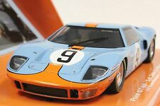 SLOT IT SICW16 FORD GT40 LE MANS 68' 1ST PALCE NEW 1/32 SLOT CAR LIMITED EDITION