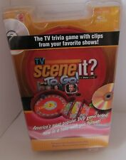 Scene It To Go Game TV Perfect for Travel NIB DVD Game sealed 2007