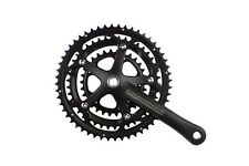 Campagnolo Racing Black 9 Speed Race 9s Triple 30/42/52 Crankset 175mm