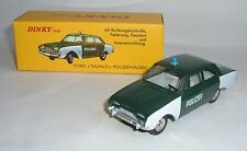 Atlas / dinky toys no 551, FORD TAUNUS voiture de police, - Superbe Mint.