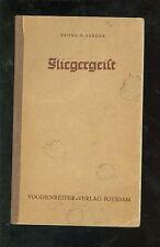 Fliegergeist vom Leben und sterben deutscher Fliegerhelden 1935