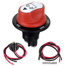 Car Switch Jtron SPST DC 50V 50A CONT 75A INT Car Mini Battery Selector Switch
