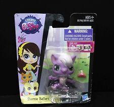 LPS Littlest Pet Shop #Stormie Batters purple bat #3882  BOX IS OLD