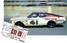 CD_2595 #41 Swede Savage  1968 Mercury Cyclone  1:25 Scale Decals
