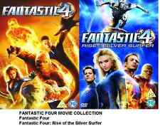 FANTASTIC FOUR / RISE OF SILVER SURFER DVD PART 1 and 2 Movie MARVEL Film Sealed