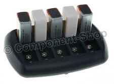Intelligent Battery Charger for 10x PP3 8.4V (9V) NiCd/NiMH batteries. UK Plug