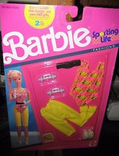 CUTE BARBIE SPORTING LIFE FASHIONS (EXERCISE OUTFIT) NEW IN PKG