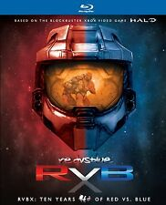 RED VS BLUE : RVBX 10 YEARS OF (14 disc set)  -  Blu Ray - Region free
