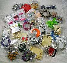 NEW WHOLESALE Lot 50 PAIRS MIXED FASHION EARRINGS DANGLE HOOPS STUDS