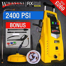 WILKS-USA High Pressure Washer 2400 PSI/165 BAR Electric Water Patio Cleaner