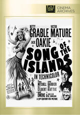 Song of the Islands 1942 (DVD) Betty Grable, Victor Mature, Jack Oakie - New!