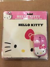 Hello Kitty Computer Mouse And Pad Rare