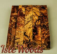 Mango Burl Exotic Wood Pen Blanks Reel Seats   PB8767