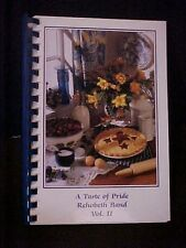A Taste of Pride Rehobeth Band Volume II Cookbook, Rehobeth AL