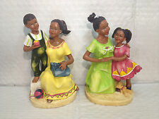 J.D. Yeatts and Sons - African American Mother w/ Child, Set of 2, 51577 A and B