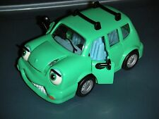 1996 CHEVRON CARS #2 WENDY WAGON - GREEN STATION WAGON W/ MOVING EYES DOORS HOOD