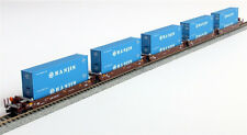 KATO 1066155 N  Maxi-I 5 Car Set with 40' Containers AOK #58101 106-6155 - NEW