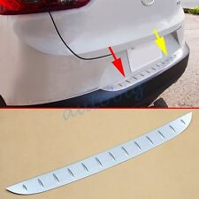 Steel Trunk Sill Protector For Mazda CX-3 2016 CX3 Accessories Bumper Plate