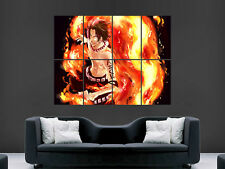 ONE PIECE ACE  MANGA  ART  HUGE WALL GIANT POSTER