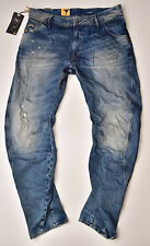 G-STAR RAW - Arc 3D Loose Tapered - Vintage Look Jeans Visor Denim W32 L32 Neu !
