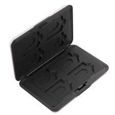 Multi Memory Card Case SD8 Speicherkarten Schutzbox für 8 SD Karten Aluminium 1x