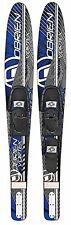 O'Brien Vortex Blue Combo Water Skis With 700 Adjustable Bindings 2131100