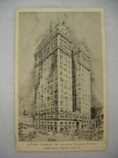 VINTAGE POSTCARD JEFFERSON STANDARD LIFE INSURANCE CO BLDG GREENSBORO NC 1938
