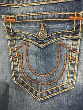 TRUE RELIGION RICKY SUPER-T MEN JEAN LT OLD SCHOOL M859NYM9 NWT 31W $349 USA
