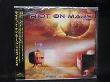 RIOT ON MARS First Wave JAPAN CD Obsession B'z Yngwie Malmsteen Michael Schenker
