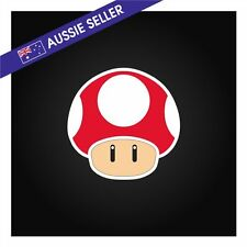 Toad Mushroom Sticker - funny car window stick figure family vinyl decal mario