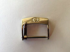 Omega 18mm Stainless Steel Watch Strap Buckle