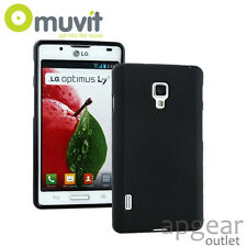 MUVIT ORIGINALE LG OPTIMUS L7 II BLACK MINI GEL muski0171 Telefono Case Cover Retail
