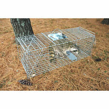 Pet Trex Zinc Live Animal Trap Racoon Skunk Cat Traps Almost 37 Inches Long!