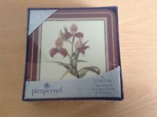 Pimpernel 6 Coasters Drink Mats New In Box