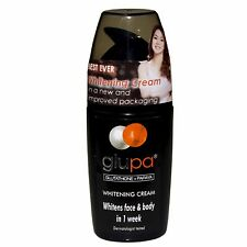 Glupa Skin Lightening Cream Glutathione & Papaya - Whitens and Protects w SPF 15