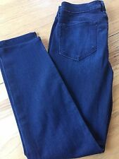 $189 NEW ! NWT PAIGE Skyline Ankle Peg Transcend Everdeen Dark Jeans Size 32