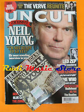 rivista UNCUT 127/2007 CD Sonic Youth Neil Young Who Led Zeppelin John Lydon