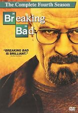 Breaking Bad: The Complete Fourth Season (DVD, 4-Disc Set, Canadian)