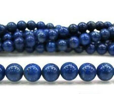 "new 8MM Genuine Cashmere Sapphire Stone Loose Beads Gemstone 15"" #925"