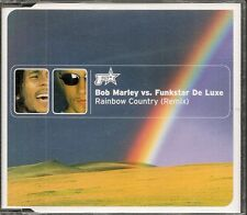 MAXI CD SINGLE 5 TITRES--BOB MARLEY VS FUNKSTAR DE LUXE--RAINBOW COUNTRY--1971