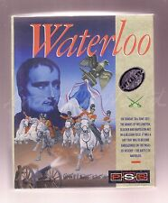 Waterloo (Mirrorsoft 1989) Atari ST Game - Medium Boxed - Complete & VGC