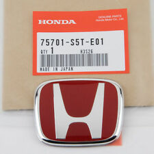 JDM RED REAR EMBLEM BADGE FOR HONDA CIVIC TYPE R EP EP3 2001-2005