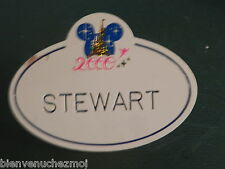 NAMETAG NAME TAG CAST MEMBER MEMBERS DISNEYLAND PARIS