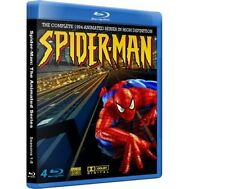 SPIDER-MAN 1994 ANIMATED SERIES BLU-RAY COMPLETE  -All 5 Seasons, 65 Episodes!