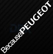 Ventana de coche al Peugeot GRACIOSO PARACHOQUES VAG Pug JDM Novedad Vinilo Autoadhesivo Con