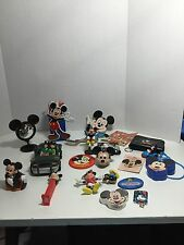 Disney Mickey Mouse Lot Of Toys Pins Soap Towel Wallet Jacks 20 Total Tt090616