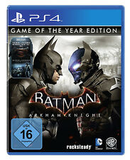 Batman: Arkham Knight Game of The Year Edition ps4 NUOVO