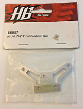Hot Bodies 66557 Aluminum CNC Front Gearbox Plate NEW HB66557